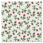 Summer Garden - rose bud red (per 1/4 metre)