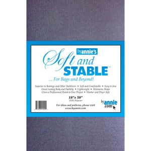 ByAnnie Soft and Stable bag stabiliser black - 18in x 58in