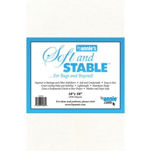 ByAnnie Soft and Stable bag stabiliser white - 18in x 58in
