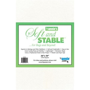 ByAnnie Soft and Stable bag stabiliser white - 36in x 58in