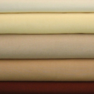 Solids browns & creams 5 fat quarter pack