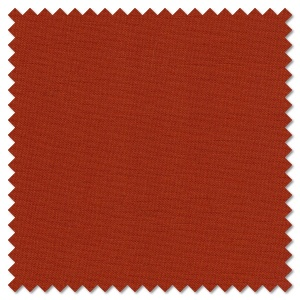 Solids - Vienna orange (per 1/4 metre)