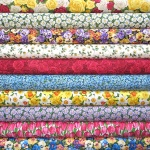 Makower Summer Garden 10 fat quarter pack