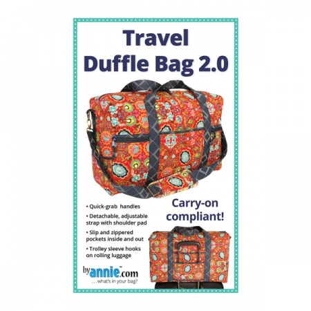 By Annie Travel Duffle Bag 2.0 bag pattern